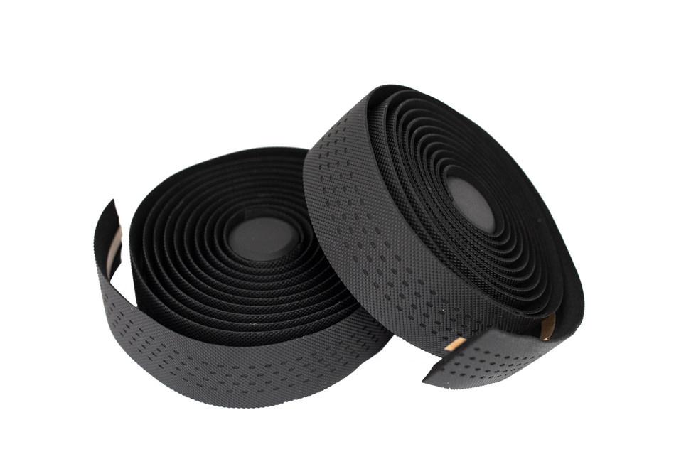 Kranx KranX Stretta Primo-High Grip Anti-Shock Handlebar Tape BLACK