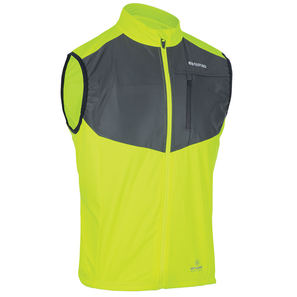 oxford Oxford Venture Windproof Gilet Fluo (XL)