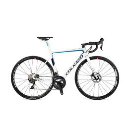 Campagnolo Colnago 2021 V3 DISC ULTEGRA MECH WHITE BLUE 50s