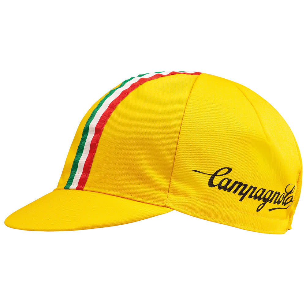 Campagnolo Classic Cycling Cap Ital/Yellow