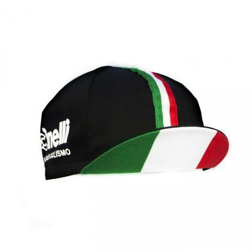 Cinelli Il Grande Ciclismo Black/Italian Cap