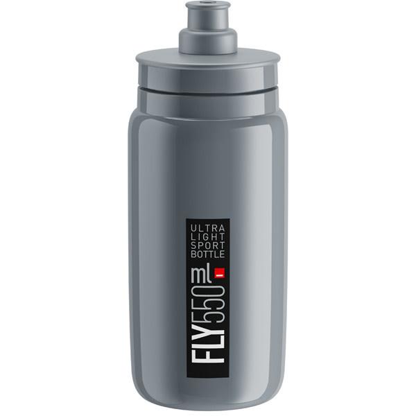 Elite Fly, grey with black logo 550 ml
