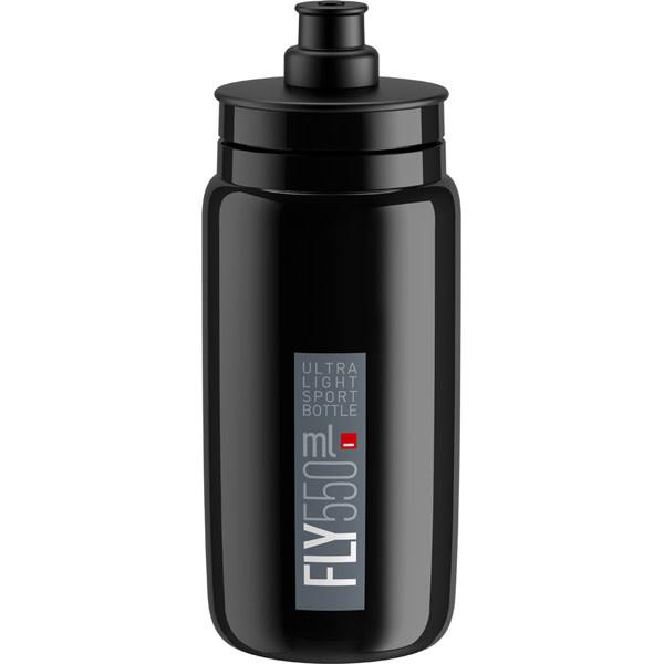 Elite Fly, black with grey logo 550 ml