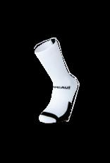 Chapeau! Chapeau!, Lightweight Performance Socks, The Marque, Tall, White/Black, 40-43