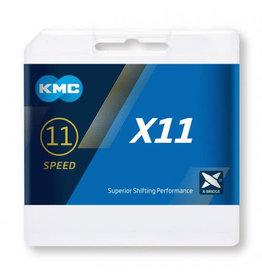 KMC X11 Chain Silver/Grey 114 links