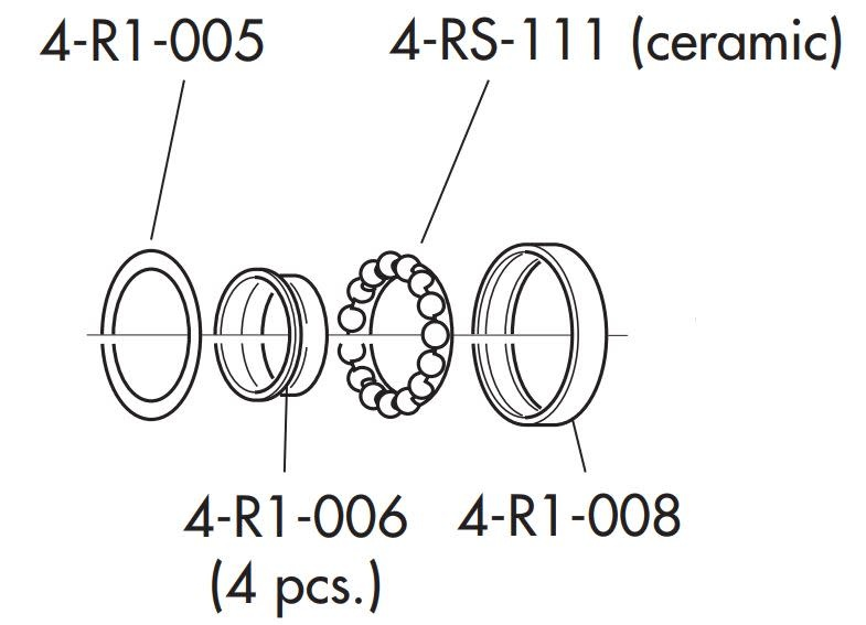 Fulcrum RS-150 hub kit USB