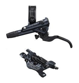 Shimano BR-M7120/BL-M7100 SLX 4 pot bled brake lever/post mount calliper, rear left