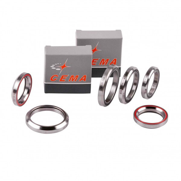 Cema Chrome Steel Headset Bearing (41 x 30.1 x 6.5mm) JS01