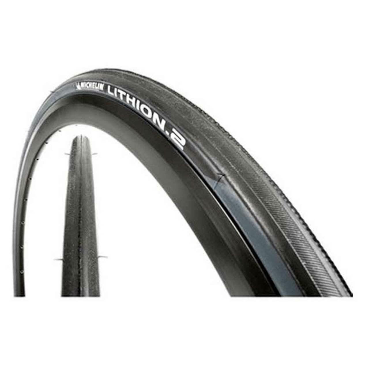Michelin, Lithion 2, Tire, 700x23C, Folding, Clincher, Silica, 60TPI, Grey