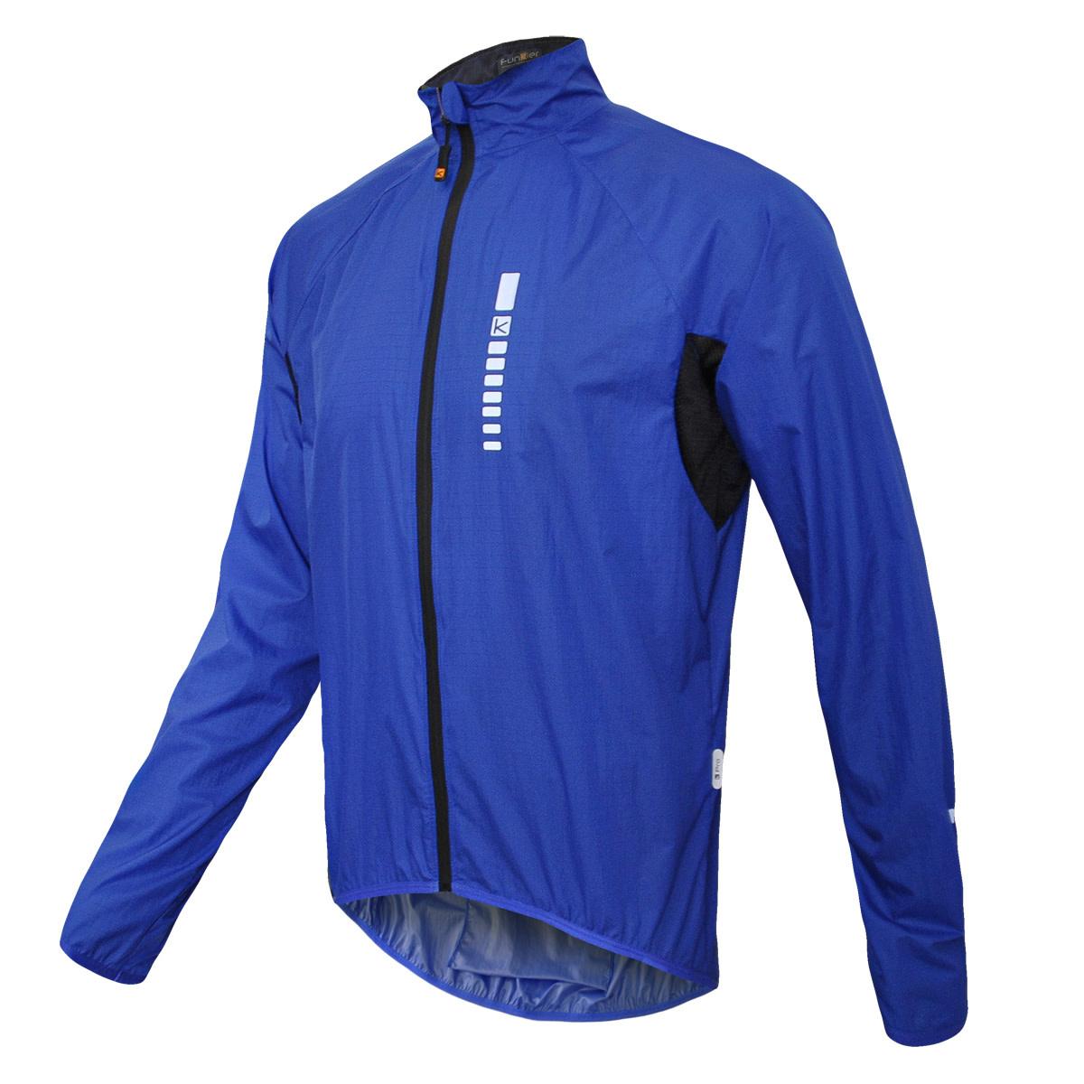 Funkier Funkier DryRide Pro Gents Showerproof Jacket in Blue - X-Large
