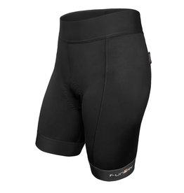 Funkier Funkier Ridesse II Ladies 8 Panel Shorts in Black (S)