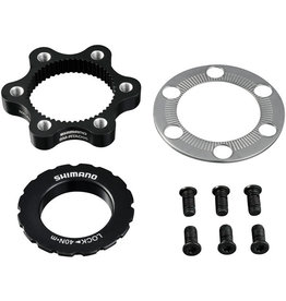 SM-RTAD05 6-bolt rotor to Centre-Lock hub disc adapter