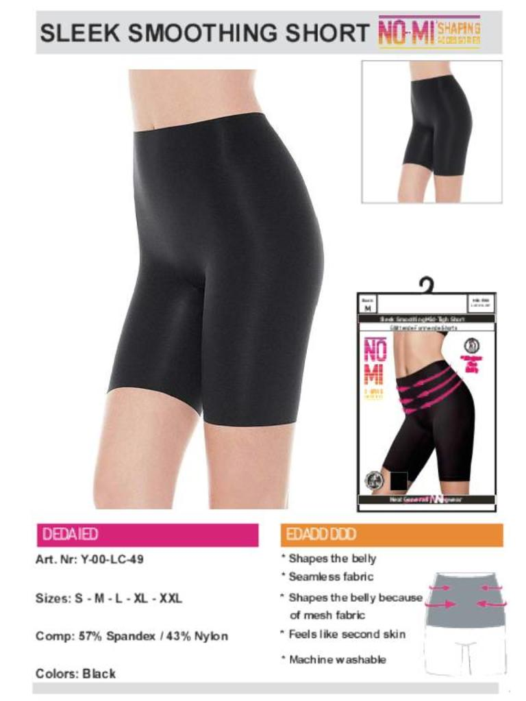NO-MI bodywear - LADYLIKE FASHION Sleek Smoothing short