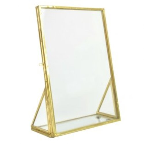 Photo frame standing small