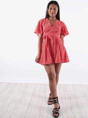 Vintage Dressing Dotty playsuit
