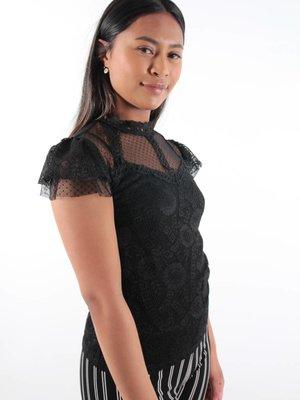 Capsule Shirt lace ruffle