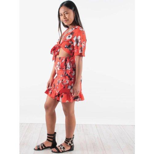 Lucy Wang Flore skirt