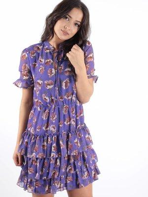 Ivivi Violet love ruffle dress