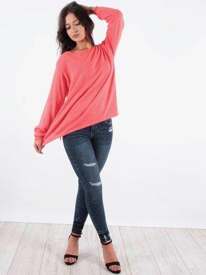 Complimento Jumper pink white stripe