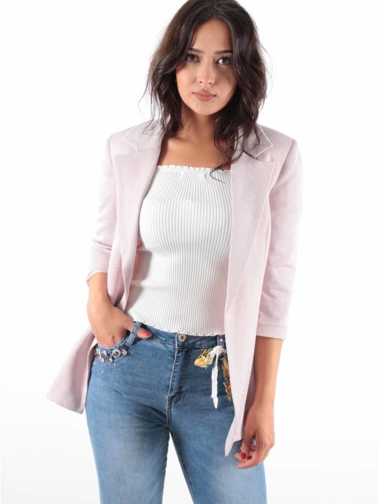 CTN Jacket glitter rose