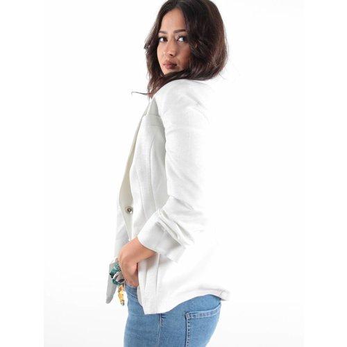 Favori Jacket glitter white