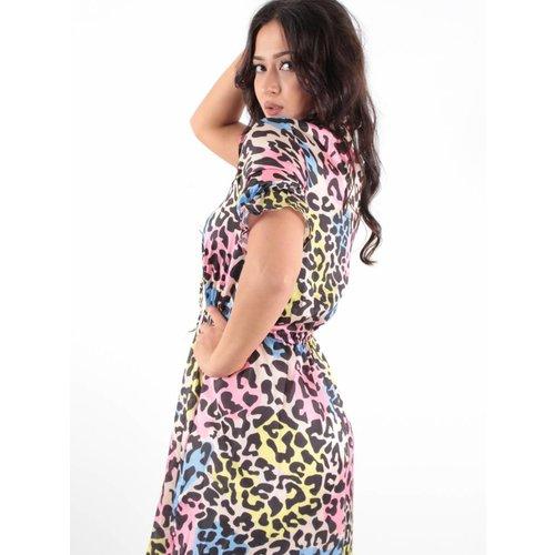Ivivi Dress leo multi