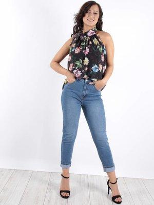 Cindy H Jeans high waist Mom fit