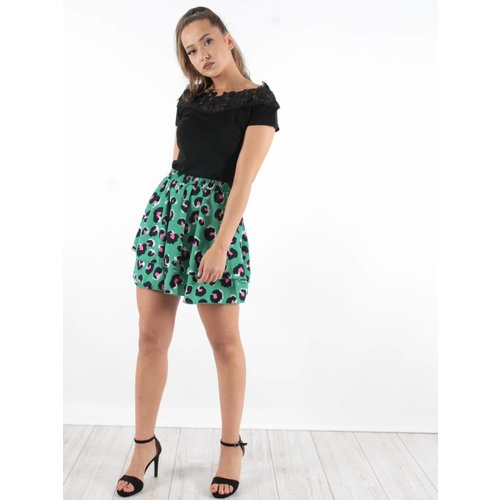 Vintage Dressing Skirt leo