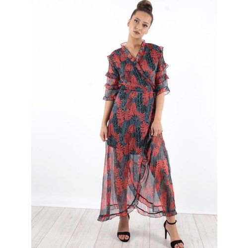 Ambika Dress voile flowers