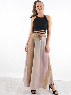 Maxi skirt shine