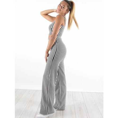 Ladylike Pants Stripe