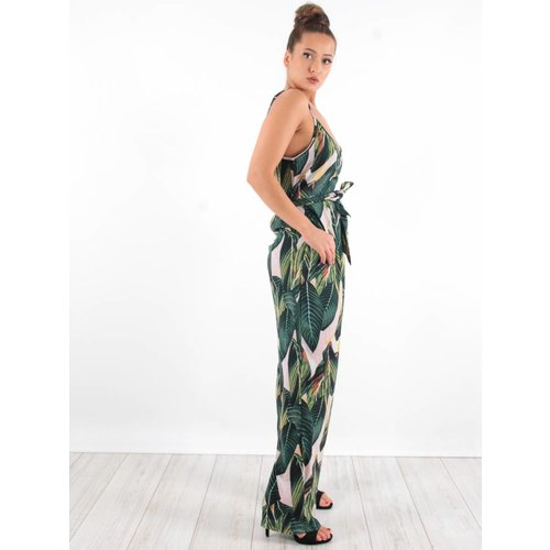 Ambika Jumpsuit leaves mevis