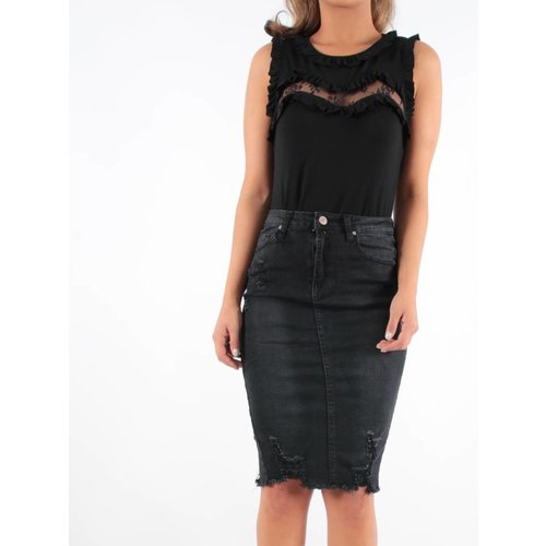 Ladylike Jeans skirt