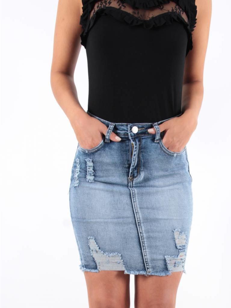 Ladylike Skirt jeans