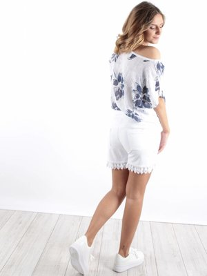 Complimento Shirt lino bloom