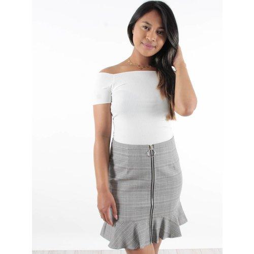 Eight Skirt carreaux