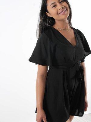 Ladylike Playsuit all black