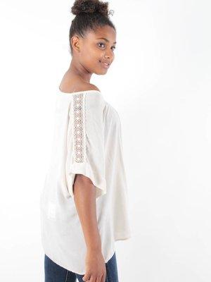 Complimento Blouse beige lace
