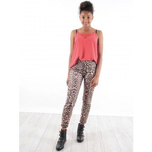 Drôle de Copine Pants leopard