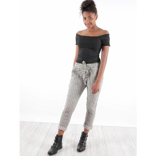 Ladylike Pants stripes