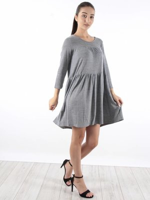 JCL Dress overload grey