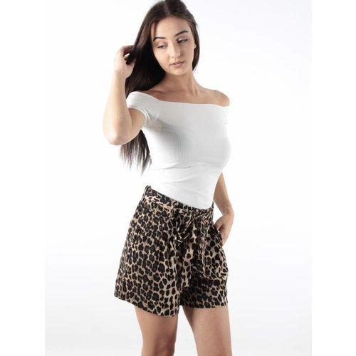 Ambika Short leopard