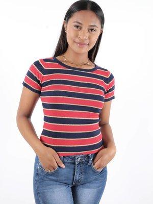 Vintage Dressing Top stripe
