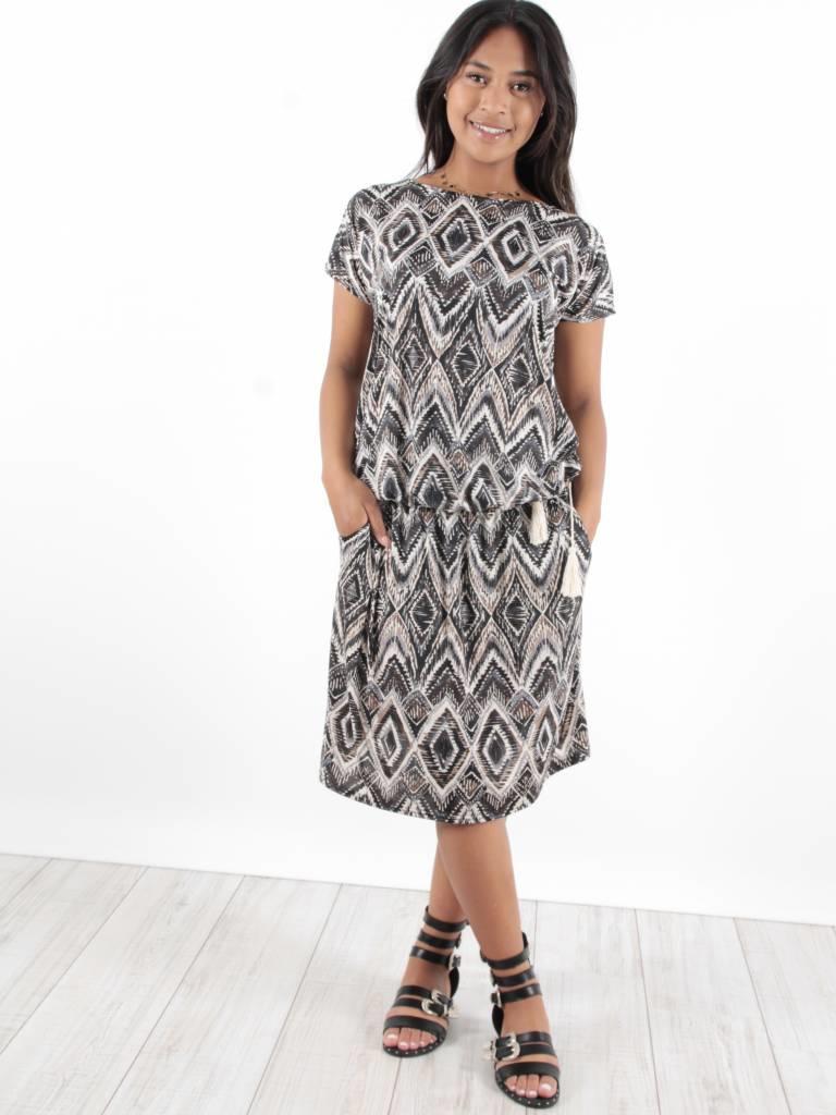 Ladylike Dress print blouse