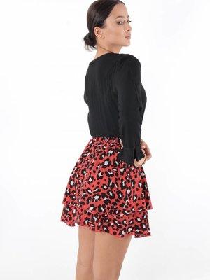 Vintage Dressing Leopard skirt