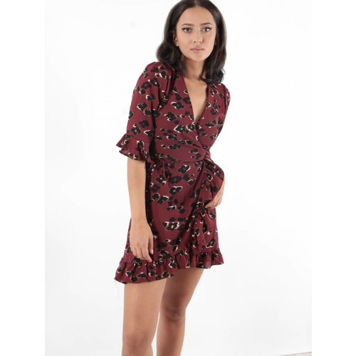 Ivivi Wrap dress leopard