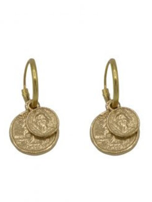 À la Earrings coin small / big pair