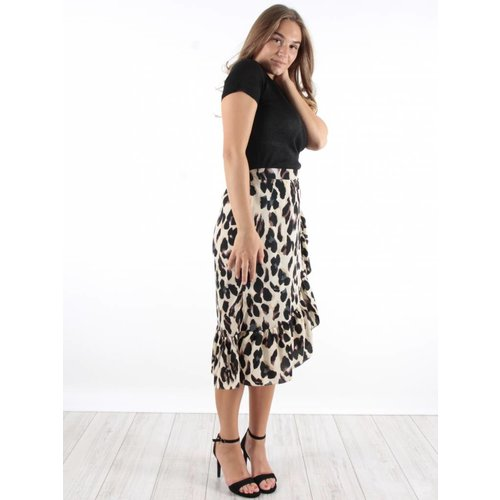 Ivivi Leopard every day skirt