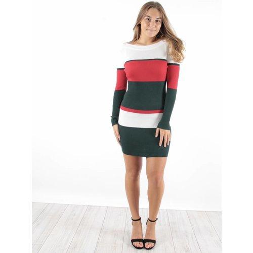 Jolio & Co Rib dress WGR