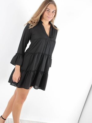 New Collection Black sanur dress
